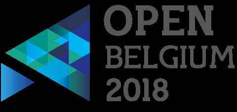 Logo open Belgium 2018